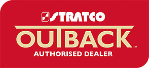 Stratco patios Bundaberg dealer logo