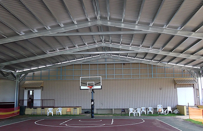 Roof Cover For Bundaberg Basketball