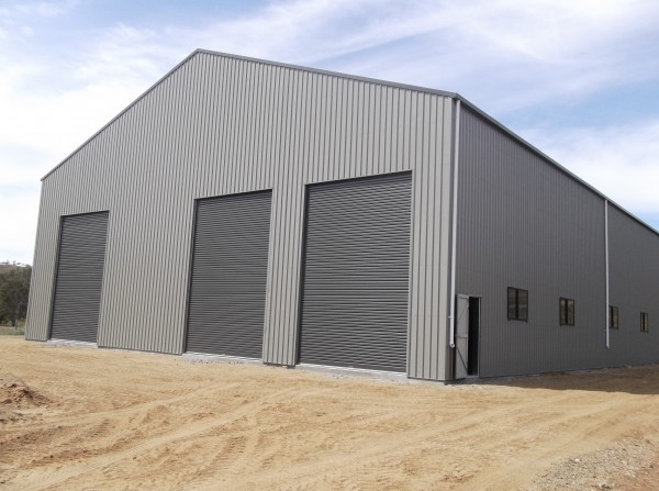 Industrial Sheds on Warehouse Steel Structure Building