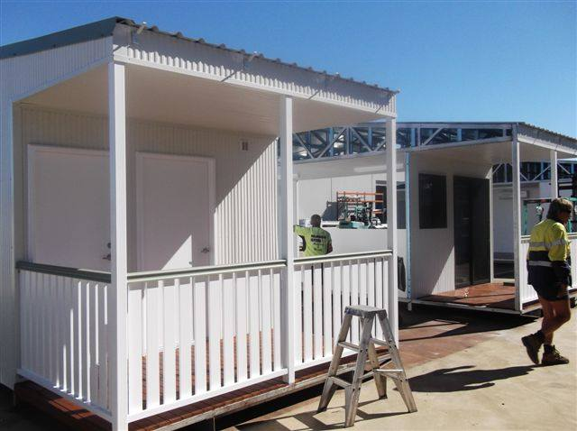 Relocatable Building For Sunwater At Paradise Dam