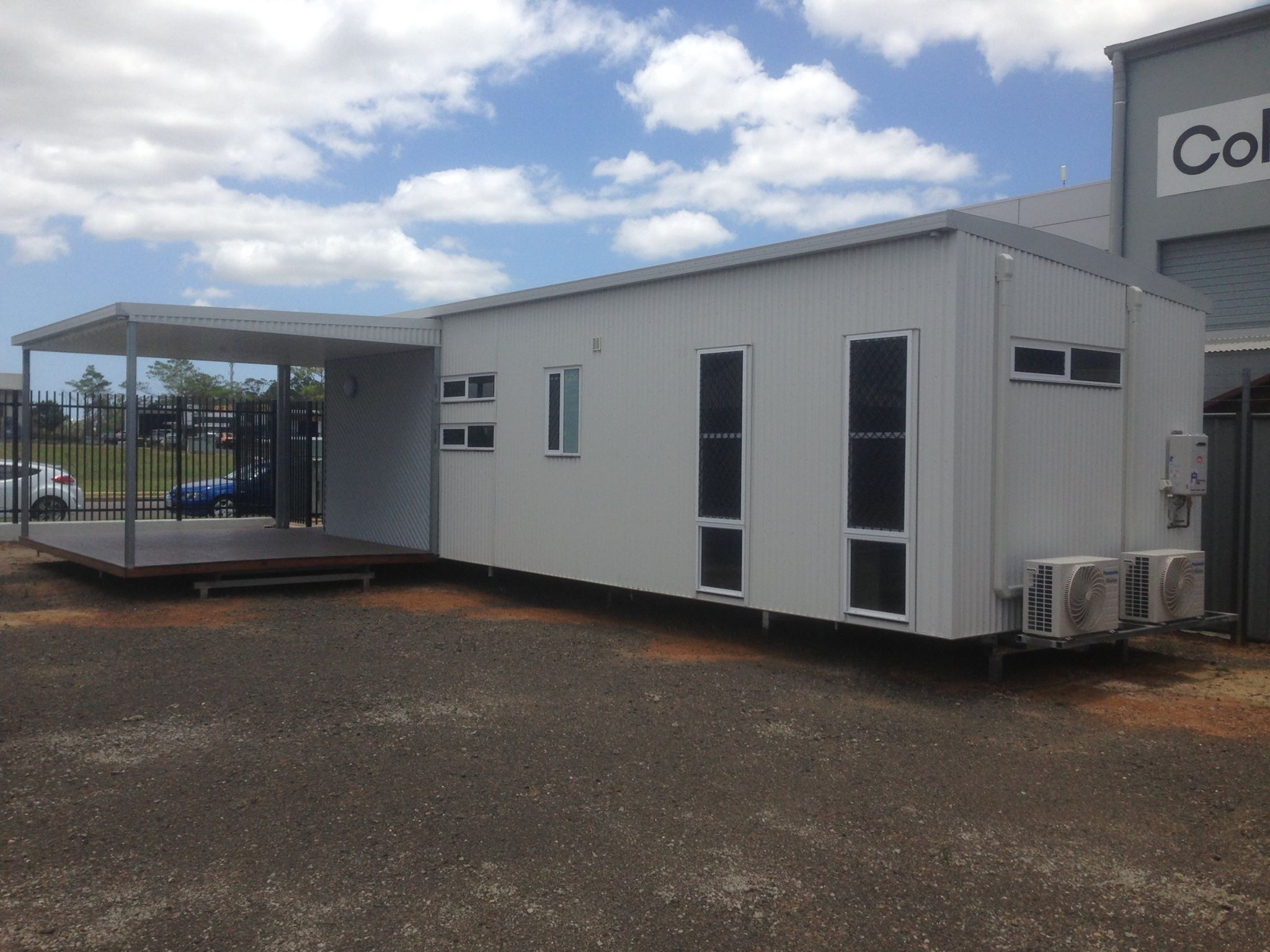 Relocatable Building With Verandah Ready For Sale In Bundaberg