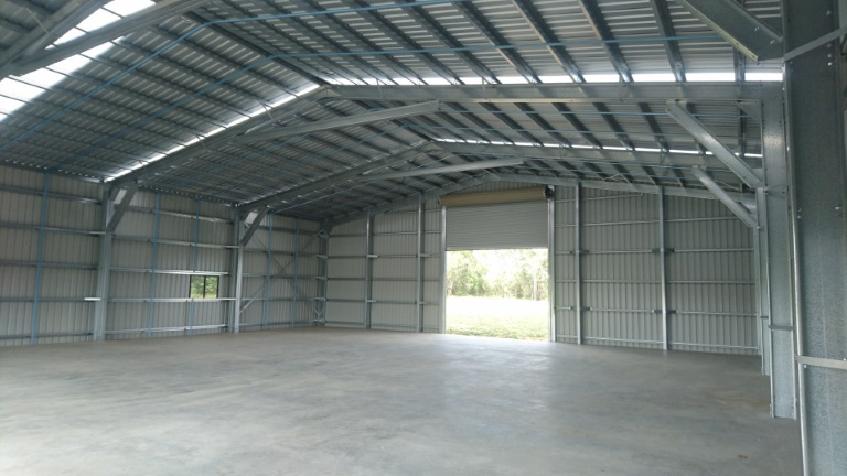 Huge Farm Shed At Winfield