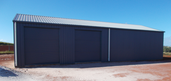 Shed Finished At North Isis